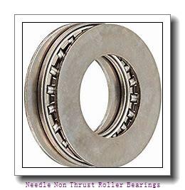 0.625 Inch | 15.875 Millimeter x 0.813 Inch | 20.65 Millimeter x 0.312 Inch | 7.925 Millimeter  IKO BA105ZOH  Needle Non Thrust Roller Bearings
