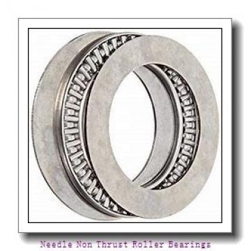 1.496 Inch   38 Millimeter x 1.89 Inch   48 Millimeter x 1.181 Inch   30 Millimeter  IKO TAF384830  Needle Non Thrust Roller Bearings