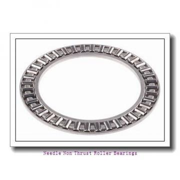 19.291 Inch   490 Millimeter x 23.622 Inch   600 Millimeter x 6.299 Inch   160 Millimeter  IKO RNA4988  Needle Non Thrust Roller Bearings