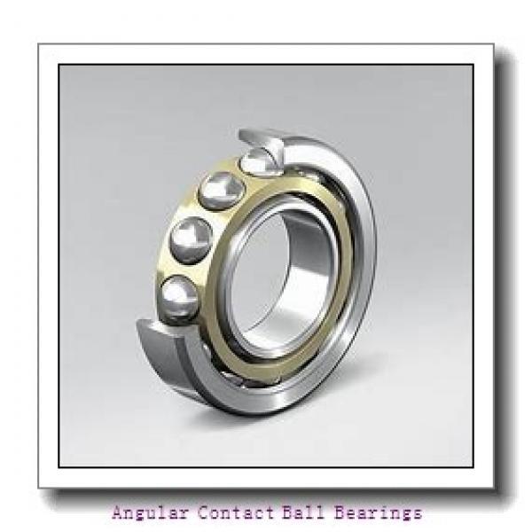 90 mm x 160 mm x 30 mm  SKF QJ 218 N2MA  Angular Contact Ball Bearings #1 image