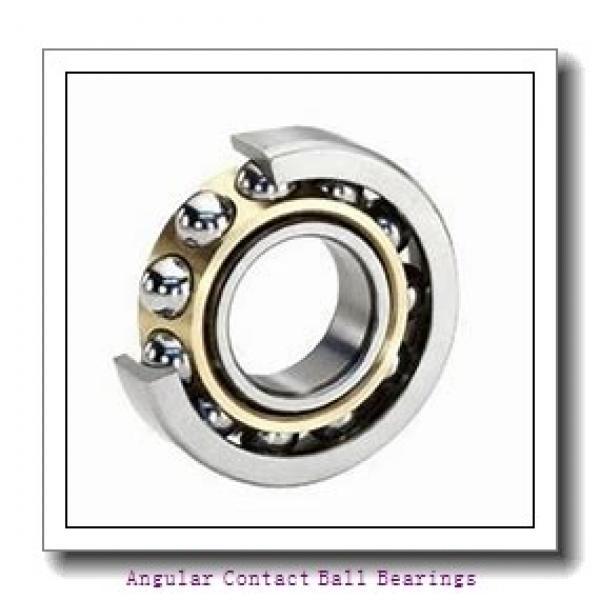 90 mm x 160 mm x 30 mm  SKF QJ 218 N2MA  Angular Contact Ball Bearings #2 image