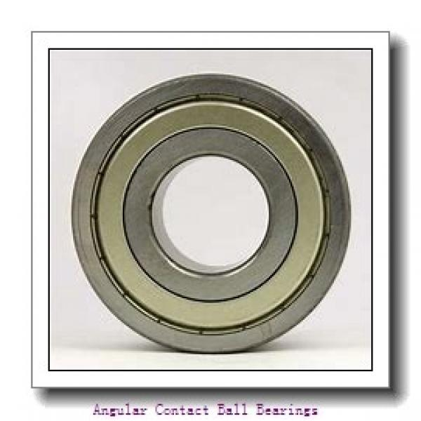 60 mm x 110 mm x 22 mm  SKF 7212 BECBP  Angular Contact Ball Bearings #1 image