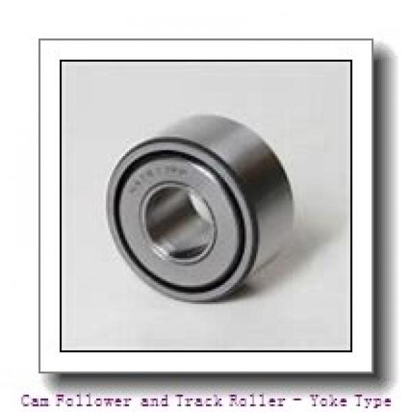 CONSOLIDATED BEARING NUTR-45100X  Cam Follower and Track Roller - Yoke Type #1 image
