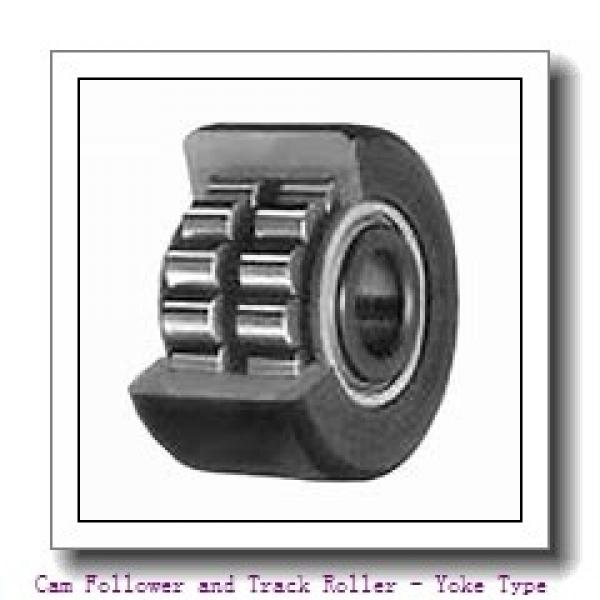 CONSOLIDATED BEARING STO-30-ZZ  Cam Follower and Track Roller - Yoke Type #2 image