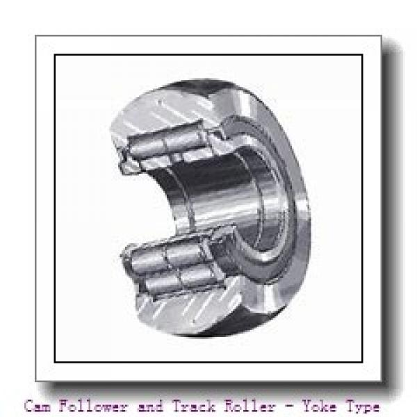 CONSOLIDATED BEARING RNA-22/8-2RS  Cam Follower and Track Roller - Yoke Type #1 image