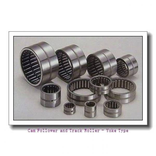 CONSOLIDATED BEARING RNA-22/6-2RSX  Cam Follower and Track Roller - Yoke Type #1 image