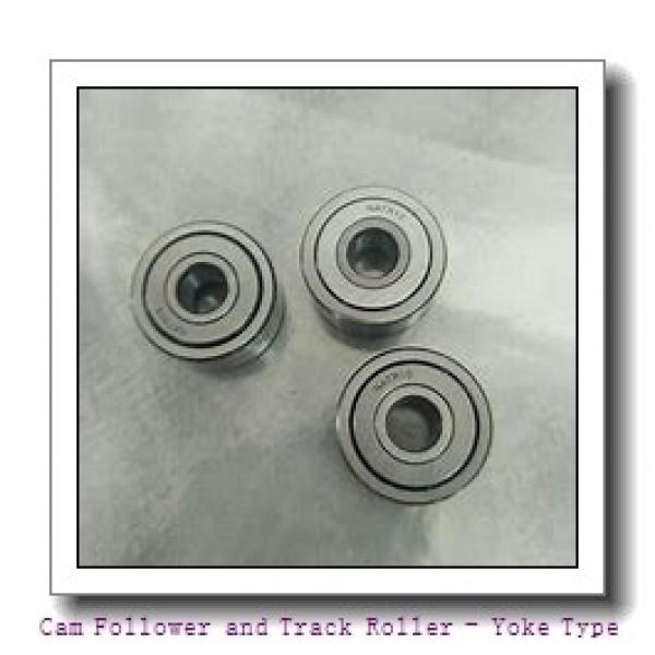 CONSOLIDATED BEARING RNA-22/6-2RSX  Cam Follower and Track Roller - Yoke Type #2 image